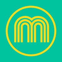 yellow m on green background for makaton logo
